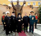 В главном военном ведомстве ядерного оружейного комплекса России освящен памятник святителю Николаю Чудотворцу