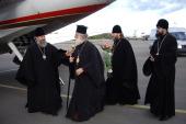 Патриарх Александрийский Феодор прибыл в Москву