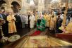 Патриаршее служение в Успенском соборе Московского Кремля в день памяти святителя Петра, митрополита Московского