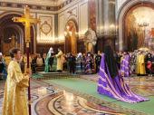 Слово Святейшего Патриарха Кирилла при вручении архиерейского жезла Преосвященному Нестору, епископу Кафскому, викарию Корсунской епархии