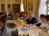 Председатель Синодального отдела по церковной благотворительности и социальному служению провел заседание совета координаторов Службы добровольцев «Милосердие»