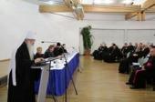 Митрополит Минский Филарет принял участие в церемонии открытия V Восточноевропейского симпозиума исследователей Нового Завета