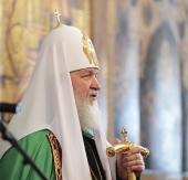 Патриаршее слово в день памяти святителя Петра, митрополита Московского, в Успенском соборе Московского Кремля