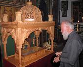 Блаженнейший митрополит Киевский Владимир совершил Божественную литургию в храме Преображения Господня на горе Фавор