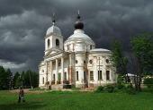 Предстоятель Русской Церкви посетил Никольский собор в Мышкине