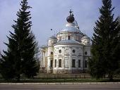 Святейший Патриарх Кирилл посетил Успенский собор города Мышкина