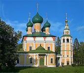 Святейший Патриарх Кирилл посетил Спасо-Преображенский собор города Углича