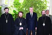 Началась поездка председателя Отдела внешних церковных связей в Великобританию