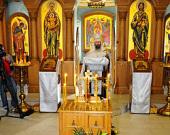 На московском подворье Православной Церкви в Америке молитвенно почтили память жертв теракта 11 сентября 2001 года