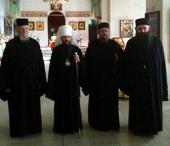 Председатель ОВЦС встретился с делегацией афонского монастыря Эсфигмен