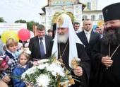 С 9 по 12 сентября 2010 года состоялся Первосвятительский визит Святейшего Патриарха Кирилла в Ярославскую и Ростовскую епархию
