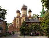 Митрополит Волоколамский Иларион возглавил торжества по случаю 100-летия Успенского собора Пюхтицкого монастыря