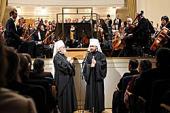 В Таллине состоялся концерт, посвященный 20-летию архиерейской хиротонии митрополита Таллинского и всея Эстонии Корнилия