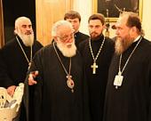 Католикос-Патриарх всея Грузии Илия II принял паломническую делегацию из Казахстана во главе с митрополитом Астанайским Александром