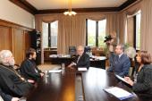 Председатель ОВЦС провел встречи с мэром Таллина и президентом Палаты предпринимателей Эстонии