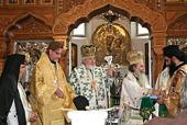 Блаженнейший Патриарх Иерусалимский Феофил III возглавил богослужения в честь 70-летия Ново-Валаамского монастыря