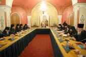 Святейший Патриарх Кирилл возглавил второе заседание руководителей Синодальных учреждений Русской Православной Церкви