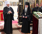 Завершилось пребывание Предстоятеля Украинской Православной Церкви на Святой земле