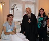 Епископ Орехово-Зуевский Пантелеимон посетил в НИИ скорой помощи им. Н.В. Склифосовского пострадавших при теракте во Владикавказе