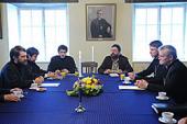 Митрополит Волоколамский Иларион встретился с главой Эстонской Евангелическо-лютеранской церкви