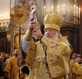 Святейший Патриарх Кирилл совершил молебен перед десницей святителя Спиридона Тримифунтского