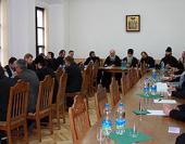 Митрополит Филарет возглавил заседание Ученого совета Минских духовных школ