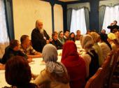 Председатель Синодального отдела по церковной благотворительности встретился со студентами миссионерского факультета Свято-Тихоновского университета