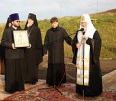 Слово Святейшего Патриарха Кирилла при закладке храма в честь святителя Николая Чудотворца на острове Беринга