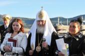 Святейший Патриарх Кирилл: Многочадная семья — это духовно здоровая семья