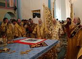 Блаженнейший митрополит Киевский Владимир возглавил торжества в честь 650-летия Свято-Николаевского Мукачевского женского монастыря
