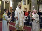 Митрополит Волоколамский Иларион посетил Будапешт