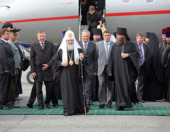 Предстоятель Русской Церкви прибыл на Сахалин