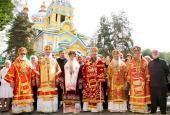 В Алма-Ате прошли торжества по случаю празднования Собора новомучеников и исповедников Казахстанских