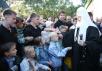 Первосвятительский визит на Дальний Восток. Посещение Свято-Покровского мужского монастыря в городе Корсакове