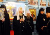 Слово Святейшего Патриарха Кирилла при посещении Свято-Покровского монастыря в городе Корсакове