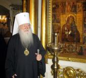 Состоялось празднование 75-летия митрополита Крутицкого и Коломенского Ювеналия