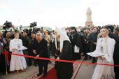 Святейший Патриарх Кирилл возглавил торжественное открытие Духовно-просветительского центра в Якутске