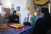 Святейший Патриарх Кирилл посетил Спасо-Преображенский собор Якутска