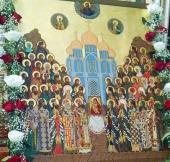 В Липецкой епархии впервые совершено празднование в честь Собора Липецких святых