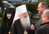 Митрополит Ювеналий совершил чин освящения домового храма Городской клинической больницы № 61 г. Москвы