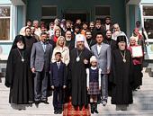 В Алма-Ате освящена церковно-приходская школа, построенная при поддержке Президента Казахстана