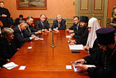 Состоялась встреча Святейшего Патриарха Кирилла с генеральным директором ЮНЕСКО Ириной Боковой