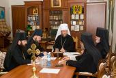 Священный Синод Православной Церкви Молдовы обсудил ряд текущих вопросов церковной жизни