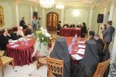 Заседание комиссии Межсоборного присутствия по вопросам противодействия церковным расколам и их преодоления прошло в Донецке