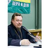 Протоиерей Всеволод Чаплин встретился с православными молодежными лидерами, обучающимися на курсах «Вера и дело» в Москве