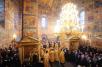 Первосвятительский визит в Ярославскую епархию. Утреня в Свято-Введенском Толгском женском монастыре