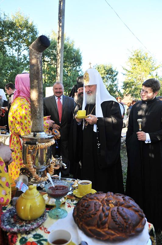 Первосвятительский визит в Ярославскую епархию. Посещение г. Мышкина