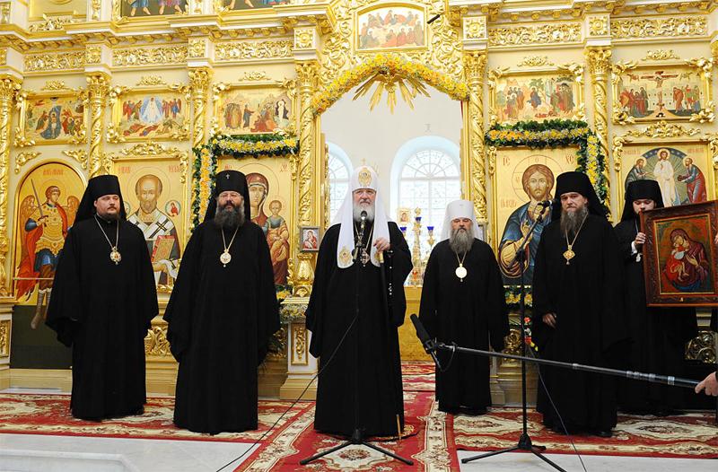 Первосвятительский визит в Ярославскую епархию. Посещение г. Рыбинска