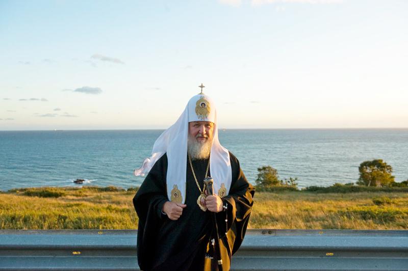 Первосвятительский визит на Дальний Восток. Посещение г. Корсакова