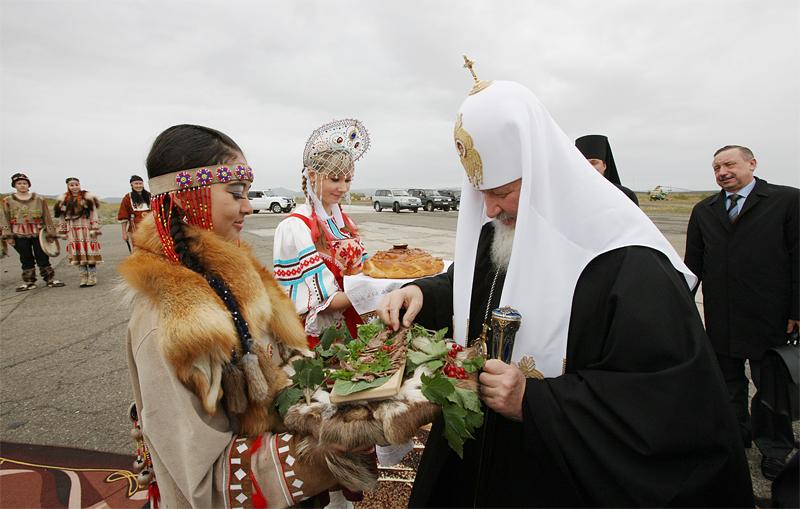 Первосвятительский визит на Дальний Восток. Посещение поселка Палана